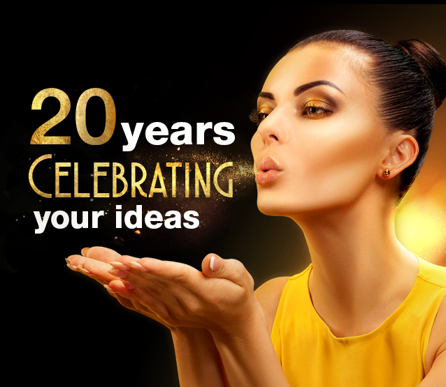 20 years celebrating your ideas